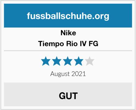 Nike Tiempo Rio IV FG Test