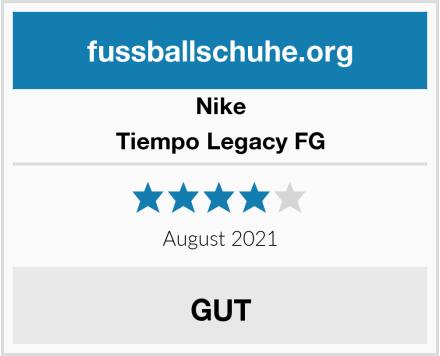 Nike Tiempo Legacy FG Test