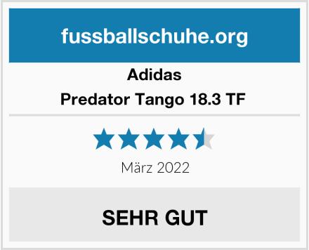 Adidas Predator Tango 18.3 TF  Test