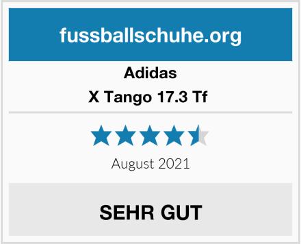 Adidas X Tango 17.3 Tf  Test