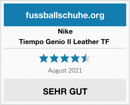 Nike Tiempo Genio II Leather TF  Test