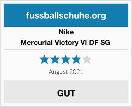 Nike Mercurial Victory VI DF SG  Test