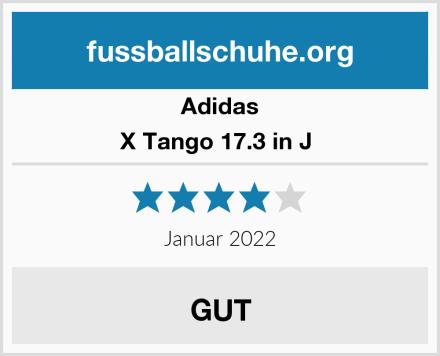 Adidas X Tango 17.3 in J  Test