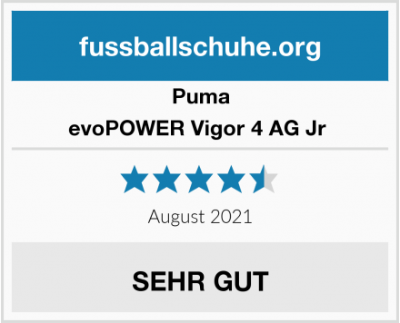 Puma evoPOWER Vigor 4 AG Jr  Test