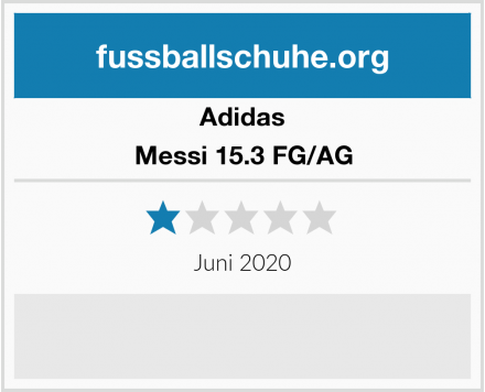 Adidas Messi 15.3 FG/AG Test