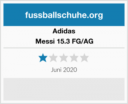 Adidas Messi 15.3 FG/AG Test
