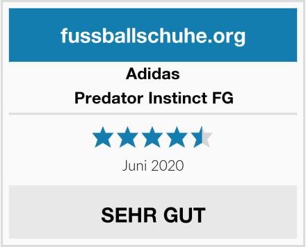 Adidas Predator Instinct FG Test