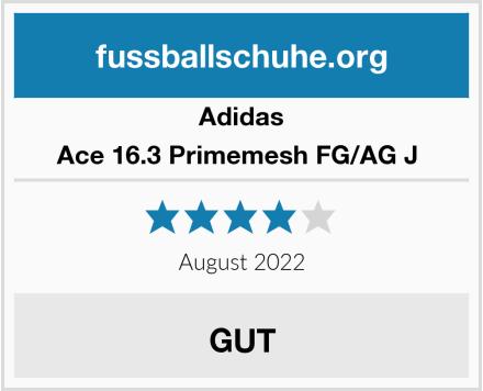Adidas Ace 16.3 Primemesh FG/AG J  Test