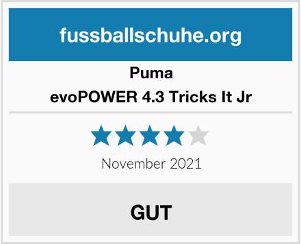 Puma evoPOWER 4.3 Tricks It Jr Test