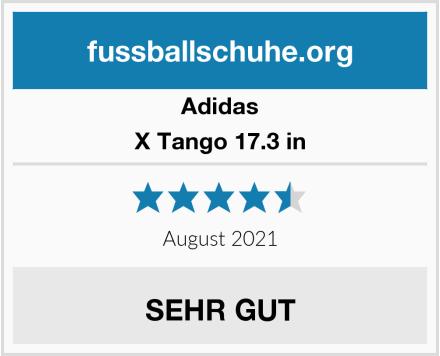 Adidas X Tango 17.3 in Test
