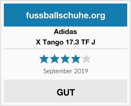 Adidas X Tango 17.3 TF J  Test