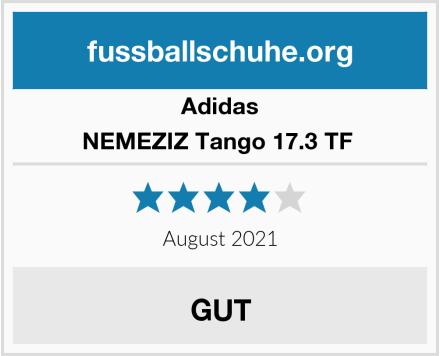 Adidas NEMEZIZ Tango 17.3 TF  Test