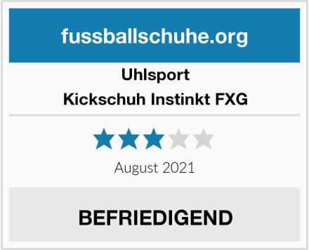 Uhlsport Kickschuh Instinkt FXG Test