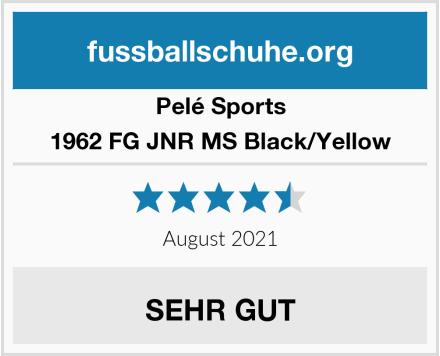 Pelé Sports 1962 FG JNR MS Black/Yellow Test