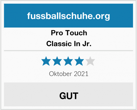 Pro Touch Classic In Jr. Test