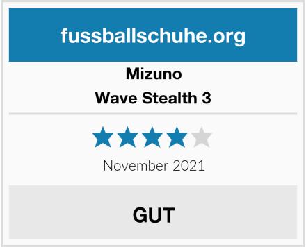 Mizuno Wave Stealth 3 Test