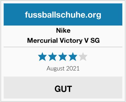Nike Mercurial Victory V SG Test