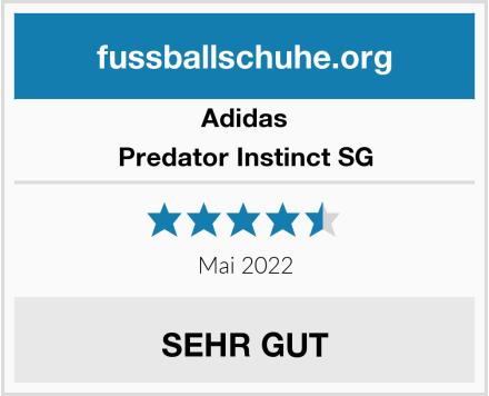 Adidas Predator Instinct SG Test