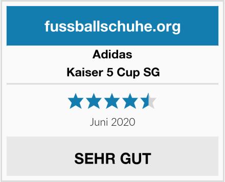 Adidas Kaiser 5 Cup SG Test