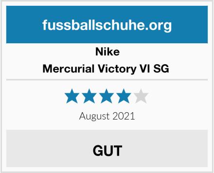 Nike Mercurial Victory VI SG  Test