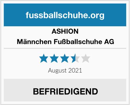 ASHION Männchen Fußballschuhe AG Test