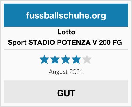 Lotto Sport STADIO POTENZA V 200 FG  Test