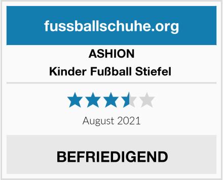 ASHION Kinder Fußball Stiefel  Test