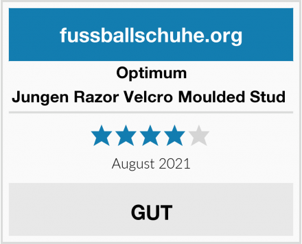 Optimum Jungen Razor Velcro Moulded Stud  Test