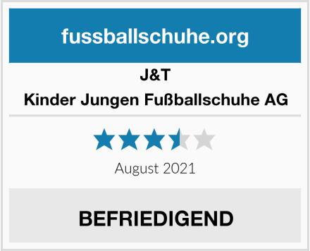 J&T Kinder Jungen Fußballschuhe AG Test