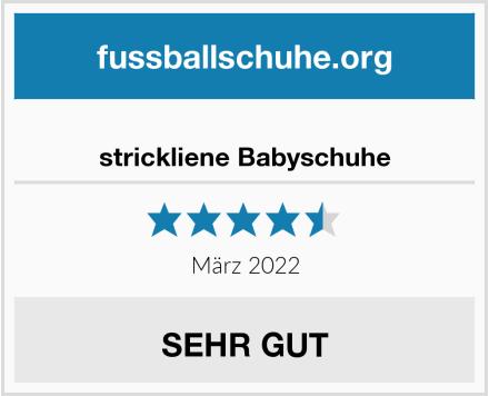 No Name strickliene Babyschuhe Test