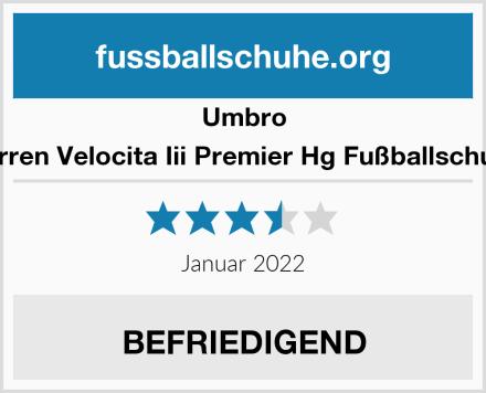 Umbro Herren Velocita Iii Premier Hg Fußballschuhe Test