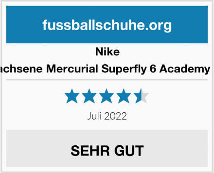 Nike Unisex-Erwachsene Mercurial Superfly 6 Academy Mg Jr Ah733 Test