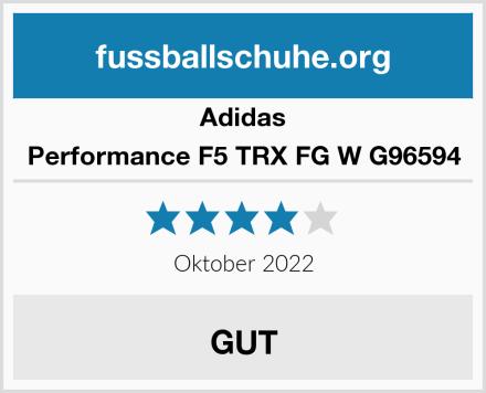 Adidas Performance F5 TRX FG W G96594 Test