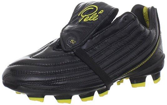 Pelé Sports 1962 FG JNR MS Black/Yellow